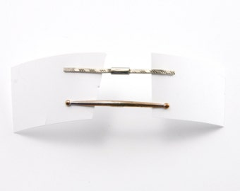 Vintage Collar Pins - Vintage Men's Collar Pins - 2 Vintage Collar Pins