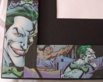 Joker Picture Frame (holds 8x10)