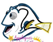 SALE Finding Dorie Applique Embroidery Machine Design 4 Hoop sizes Instant Download