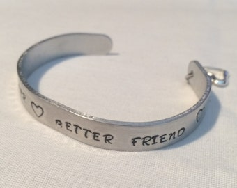 Best Sister .... Cuff Bracelet
