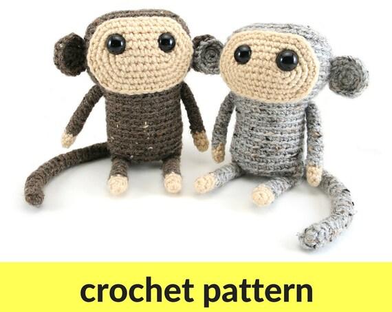 Monkey amigurumi pattern Chinese New Year 2016 crochet