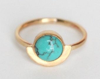 Demi Ring - Brass