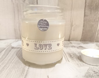 Thank You for sharing our day (love) Scented Soy Candle