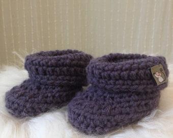Baby Booties, Crochet Baby Booties, Baby Shoes, Crib Shoes, Crochet Booties, New Baby Gift