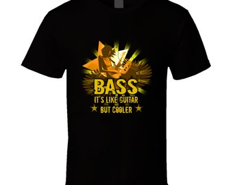 Bass Guitar t-shirt. Bass Guitar tshirt. Bass Guitar tee for him or her. Bass Guitar gift idea as Bass Guitar gift. Great Bass Guitar tshirt
