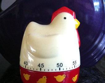 Chicken Egg Timer/Vintage Egg Timer