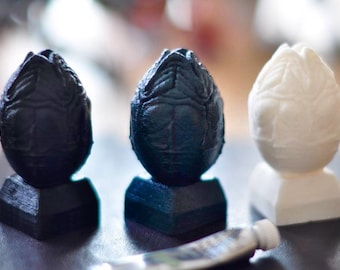Galactic Egg Resin Cast Sculpture
