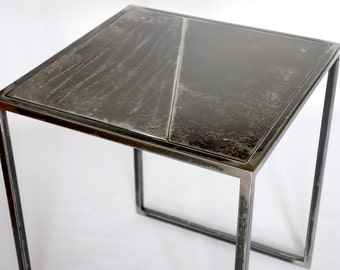 End of sofa any steel, small side table, stool, this small lounge furniture has multiple uses.