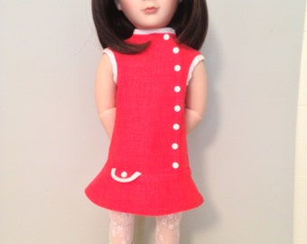 1960's Style Mod Dress for Sam A Girl for All Time