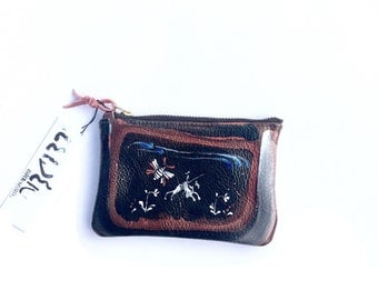 La Mancha Coin Purse - Leider Leather - hand painted Edition