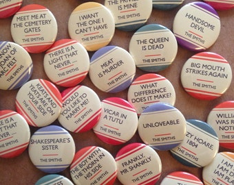 Badges & Pins - The Smiths (O-Y)