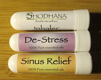 Shodhana Oils Aromatherapy Inhalers, Anxiety Relief Oils, Sinus Relief, Stress Relief Oils, Spiritual Well Being