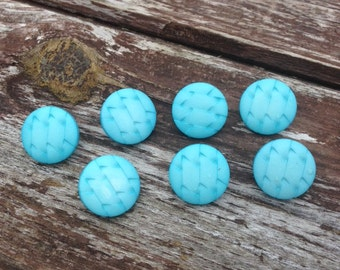 French buttons, blue buttons, round buttons, buttons, sewing sundries,  pretty buttons, shank style buttons, 2 cm buttons