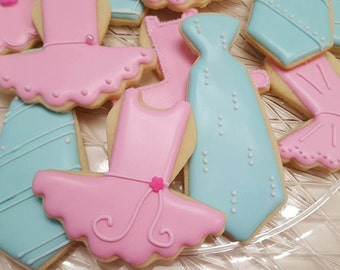 Gender Reveal Cookies (available in all colors)