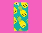 PINEAPPLE SKULL  iPhone 6 Case, iPhone 6s case, iPhone 5 case, iPhone 5c case, iPhone 6 plus case, iPhone 5s case, iPhone 6s plus case