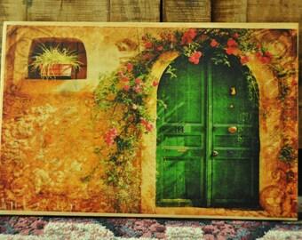 Vintage Picture Home Decor