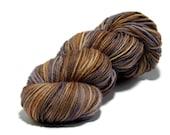 Hand dyed yarn - Autumn Haze - Harvest DK - 100% Wool, Superwash. 100grams/217metres. Ready to Ship