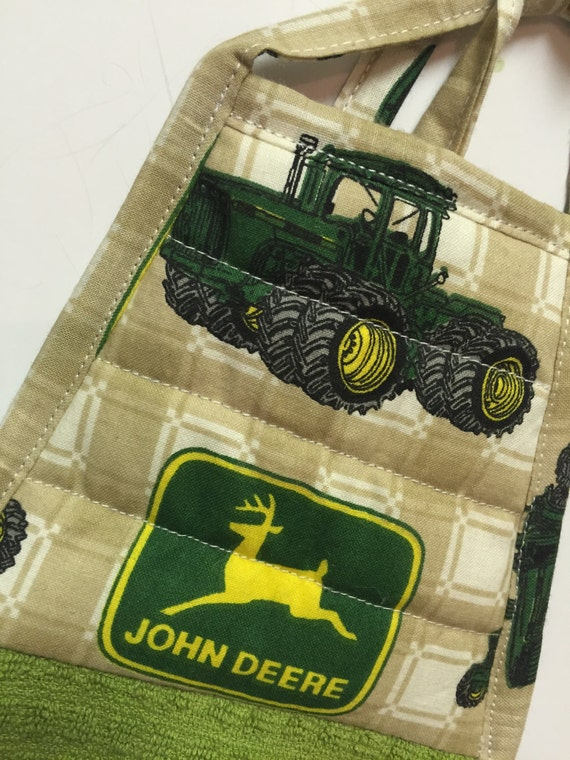 deere hanging kitchen towel s day by