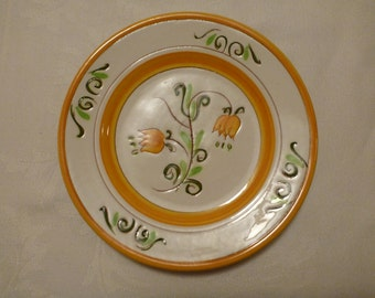 Stangl Yellow Tulip 6'' Plate #3637