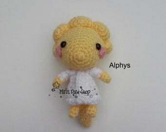 Undertale Alphys Amigurumi, Undertale Amigurumi, Undertale, Video Game, Made to Order, Alphys Plush