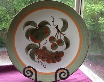 Stangl Orchard Song Chop Plate-Gorgeous!!