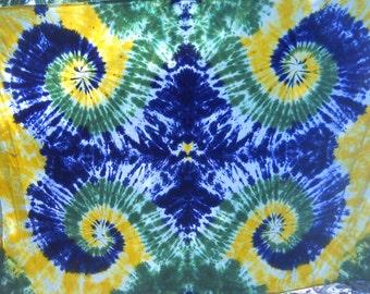 twin sheet Mardi Gras Colors twin size