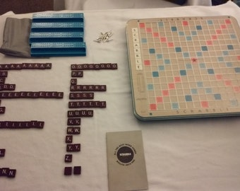 Deluxe Edition Scrabble Game VINTAGE 1966