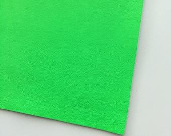 Neon Green Vegan Faux Leather, Vinyl, Leatherette, Green, Vegan Leather, Bow, Fake Leather, Faux Leather Sheet, Green Faux Leather, Neon