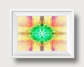 All Spark Digital Art 4x6 inch Print