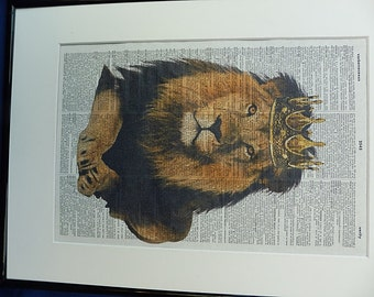 the gallery for gt lion crown art