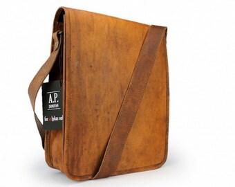 Leather Case for iPad Leather Shoulder Bag