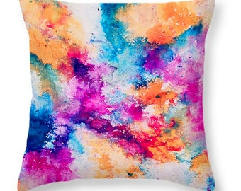 Possibilities Throw Pillow  18 x 18