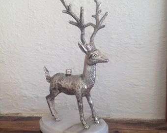 Artdeco animal statue/candel