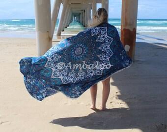 bohemain beach throw