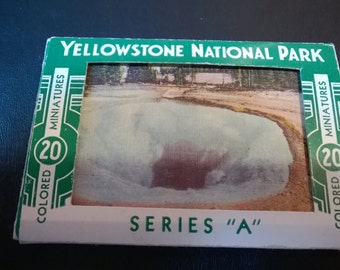 """Vintage Yellowstone """"Series A"""" Haynes Postcards **FREE SHIPPING**"""