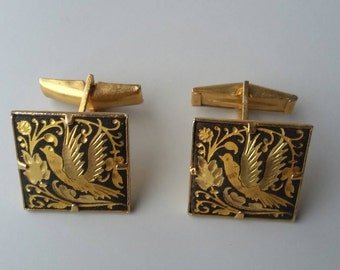 Pair or lovely Gold Plated Cufflinks