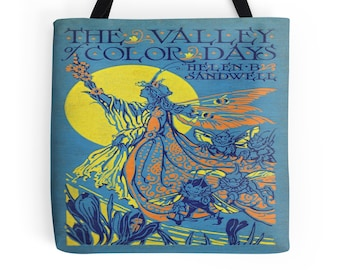 Color Days Book Cover Tote Bag