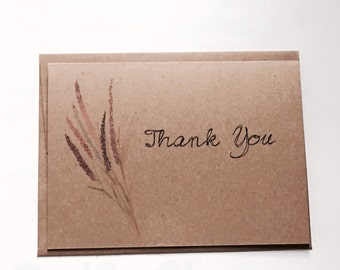 Rustic thank you   Etsy