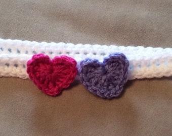Double Heart Headband