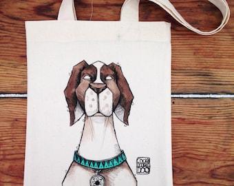 Doggie Tote Bag (Customizable)