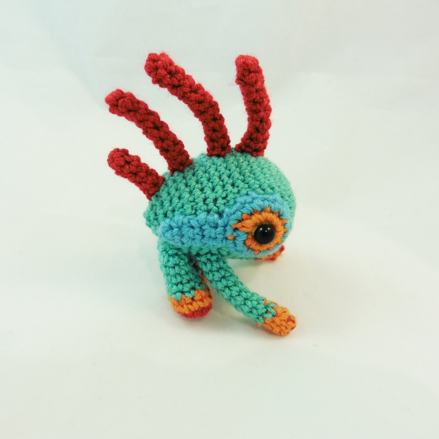 World Of Amigurumi : Chibi Murloc Amigurumi World of Warcraft / by InesDreamerShop