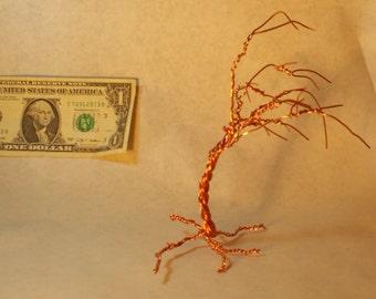 Copper windy tree