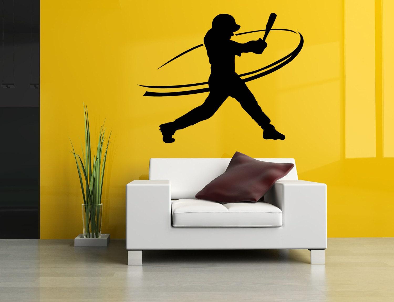 Removable Vinyl Sticker Mural Decal Wall Decor Poster Art Baseball ...
