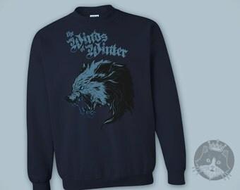 Game of Thrones - Stark - The Winds of Winter - Direwolf - Sweatshirt