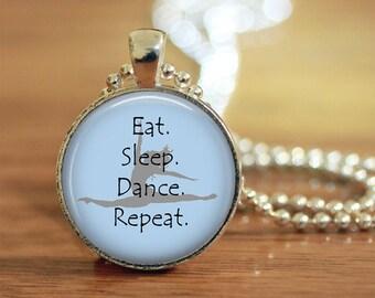 Dance, Dance Jewelry, Dance Necklace, Dancer, Dancer Gift, Dance Teacher, Gift, Dance Pendant, Dance Life, Dance Split,