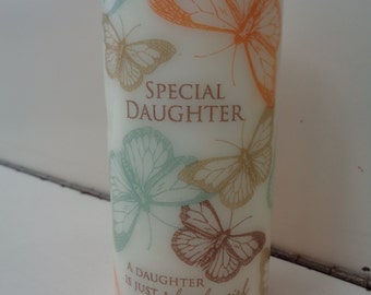sentiments candle~special daughter