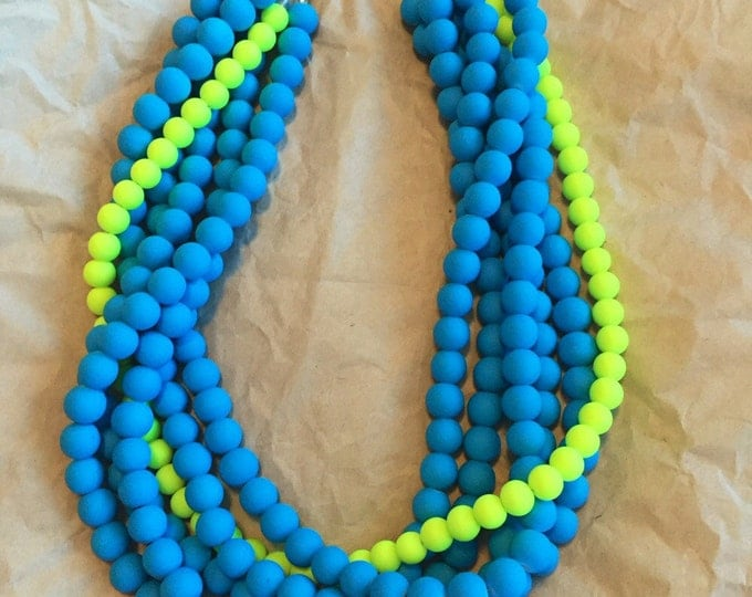Double bubble necklace