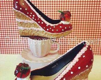 Strawberry Gateau Wedges