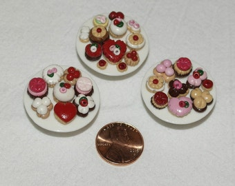 Miniature Dollhouse Food - Pastries
