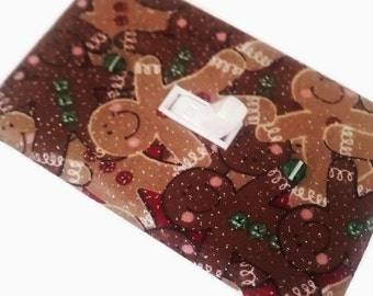 Christmas Decor | Gingerbread Man Light Switch Cover | Christmas Decorations | Holiday Home Decor | Christmas Lighting | Suiteplat |